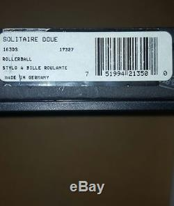 Montblanc Solitaire Doue Sterling Silver Rollerball Pen 163ds New In Box