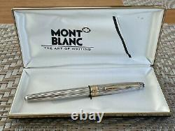 Montblanc Solitaire Silver Pinstripe Rollerball