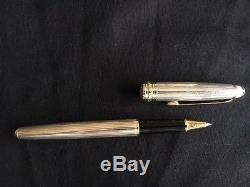 Montblanc Solitaire Sterling Silver 925 Rollerball Pen