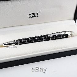 Montblanc Starwalker Metal Rubber Fineliner/Rollerball Pen With Floating Star