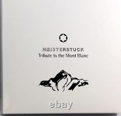 Montblanc Tribute to the Mont Blanc Rollerball PenItem No 106845 NEW