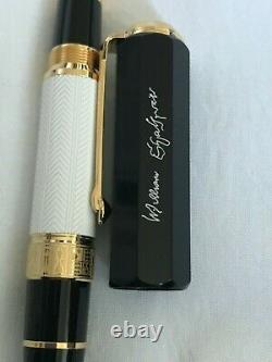 Montblanc W. Shakespeare Rollerball Pen Limited Edition Writers Series 2016-Mint