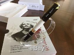 Montblanc William Shakespeare Special Edition Rollerball-114350 number 6660/7000