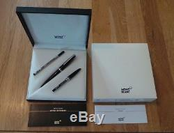 Montblanc e-Pix Midnight Black rollerball set 112682 new with E-pen