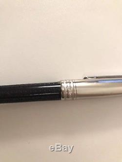 Montblanc meisterstuck Solitaire Doue Signum black rollerball Pen 8576