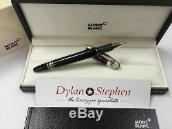 Montblanc starwalker platinum and resin fineliner / rollerball pen + all boxes