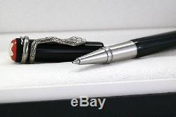 New Montblanc Heritage Collection Rouge Et Noir Rollerball Pen Box 114723