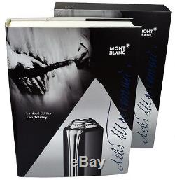 NEW Mont Blanc Leo Tolstoy Limited Writers Edition Rollerball Pen 111051
