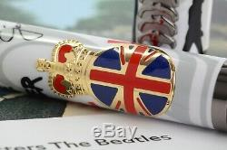 Neu Montblanc Great Characters The Beatles 1969 Rollerball Pen 116260 Ovp