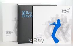 Neu Montblanc Miles Davis Rollerball Great Characters Rollerball Pen