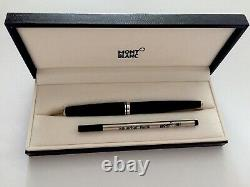 New Montblanc Meisterstuck Cruise Collection Rollerball Pen Black withBox