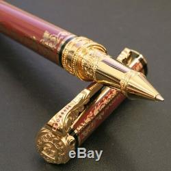 New S. T. Dupont President Second Empire Rollerball Pen Limited Edition # 0011
