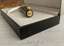 PARKER Duofold International Black with Gold Trim Rollerball Pen, EXCELLENT