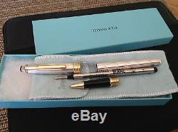 RARE MONTBLANC TIFFANY & Meisterstuck Rollerball Pen Classique 925 Sterling