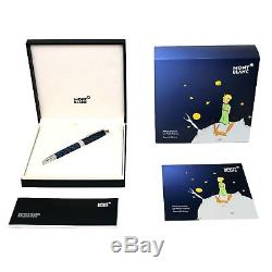 Rollerball MONTBLANC MEISTERSTUCK LE PETIT PRINCE solitaire LeGrand New 118066
