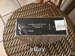 Sealed MontBlanc Dostoevsky Limited Edition Rollerball MontBlanc RB NEW PRICE