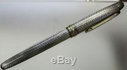 Sterling Silver Montblanc Rollerball Pen, 36.8 Grams