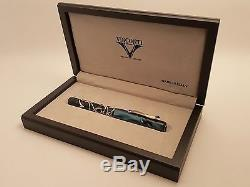 VISCONTI Versailles Limited Edition Sterling Silver Fountain Pen, ONLY 365 MADE
